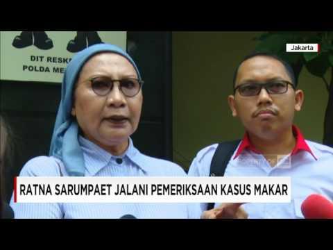 Kasus Dugaan Makar, Ratna Sarumpaet Jalani Pemeriksaan Polisi #1