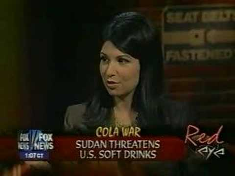 Reason Magazine's Kerry Howley Fox's Red Eye Sudan Coca-Cola