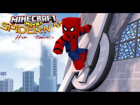 SPIDER-MAN HOMECOMING - THE FULL MINECRAFT MOVIE! thumbnail