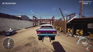 Need for Speed Payback - Big Sister's Ford Mustang Abandoned Car - Location and Gameplay