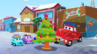 The Runaway Christmas Tree | Supercar Royce Cartoons | X'mas Songs for Kids