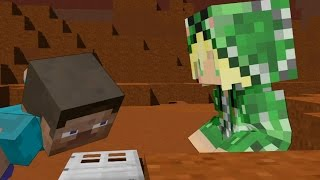 Steve vs Creeper girl - Minecraft Animation