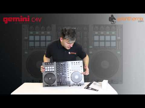 Gemini G4V - 4 Channel Digital DJ Controller Unboxing & Overview