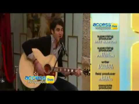 Access Hollywood Live- Darren Criss Covers 'Don't You Want Me'. -oC0ijGHr00w