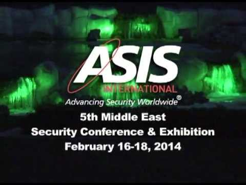 ASIS Middle East 2014 Security Conference and Exhibition