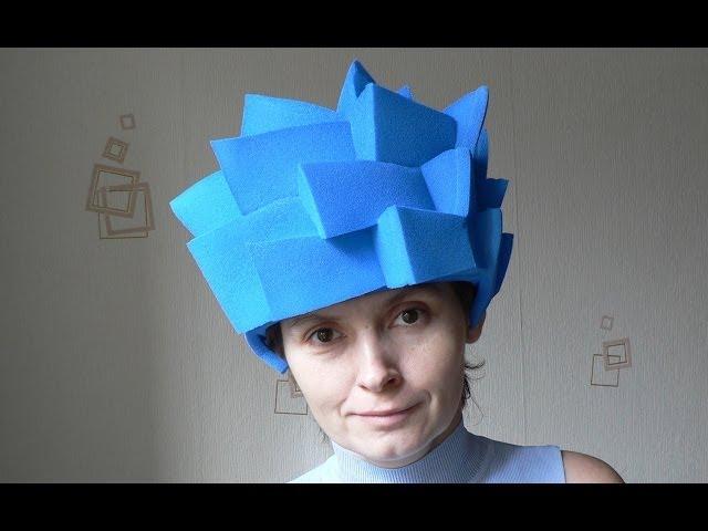 Новогодние шапки своими руками из бумаги