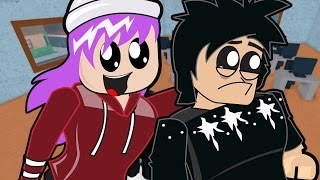 Roblox / Emo Chad and Audrey go to Roblox High School / Gamer Chad Plays