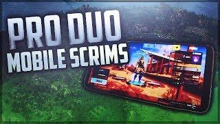 Fortnite Mobile Pro Duo Scrim | 10k Full gameplay