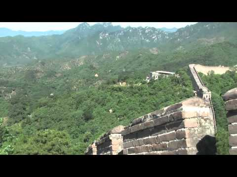 CHINA TRAVEL NEWS | TRAVEL CHANNEL SCHREITER | Walking on Chinese Great Wall Mutianyu
