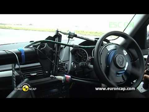 Euro NCAP | BMW X1 | 2012 | Электронный контроль устойчивости