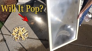 Can You Pop Popcorn With A Giant Magnifying Glass? Fresnel Lens Test