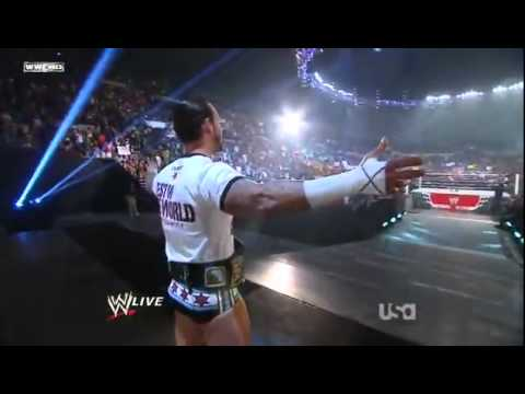 WWE Cm punk Cult Of Personality theme Debut HD