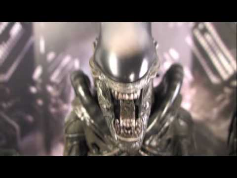 Alien Hot Toys Big Chap 1/6 Scale Movie Masterpiece Collectible Figure Review