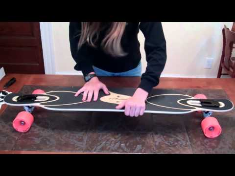Loaded Dervish Sama Longboard Unboxing - Flex 2