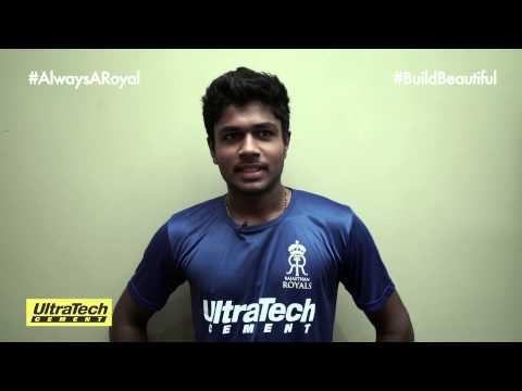 Sanju Samson relives his #BuildBeautiful Moments with RR