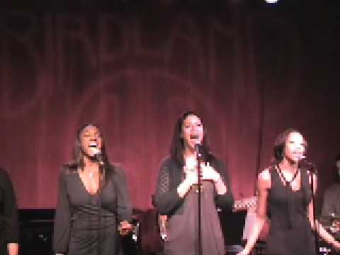 Never Neverland (Fly Away) sung by Dandridge, James, Sengbloh and Hall - Live @ Birdland 1/12/09
