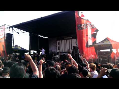 Emmure- R2 Deepthroat Live At Mayhem Fest 2013 video