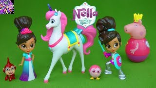 Nella the Princess Knight Toys Trinket Horse Unicorn Night Peppa Pig George Weebles Girl Toys Video!