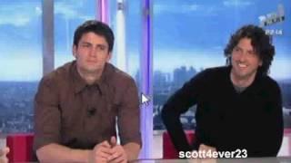 James Lafferty and Mark Schwahn @ NRJ Live Paris - Part 3/3