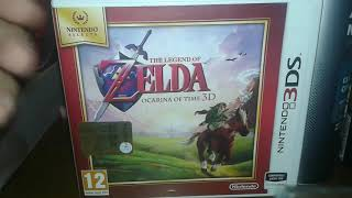 Unboxing the legend of zelda carina of time 3D
