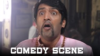 All In All Alaguraja - Aranmanai Tamil Movie   Santhanam & Paatti Comedy