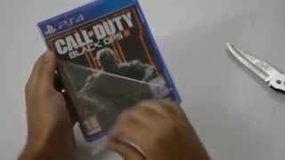 Black Ops 3 (Ps4) UNBOXING