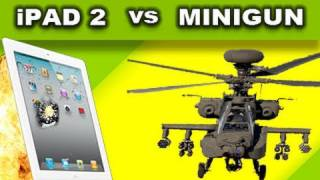 New iPad 2 vs Helicopter Minigun_ Tech Assassin RatedRR
