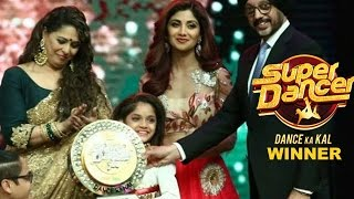 Super Dancer Grand Finale 2016 Winner : 9 Year Old Ditya Bhande Win Shilpa Shetty Super Dancer Show