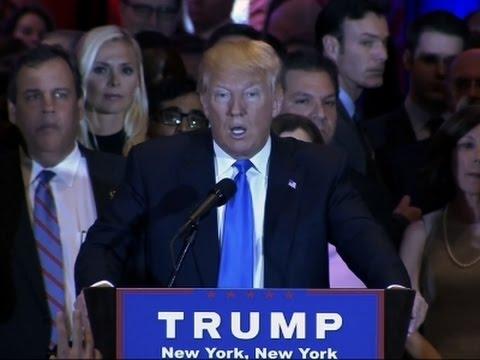 Trump Declares Himself GOP's Presumptive Nominee
