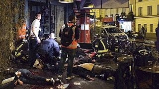 Paris Attacks Kill More Than 100, tragedy moment Amateur video FULL november 13 2015
