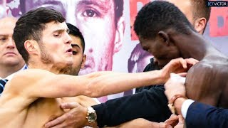 Joseph Laws inflicts ROUGH JUSTICE SHOVE on next opponent | Matchroom weigh-in