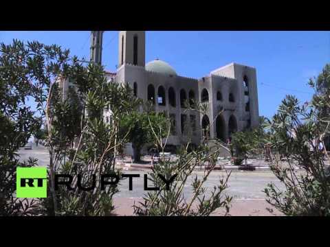 State of Palestine: Gazan buildings ravaged by Israeli attacks