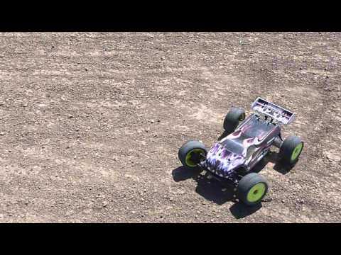 X-RAY XT8-E Truggy - Racing - Track