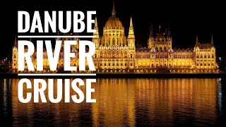 DANUBE RIVER CRUISE BUDAPEST - BOAT TOUR AT NIGHT