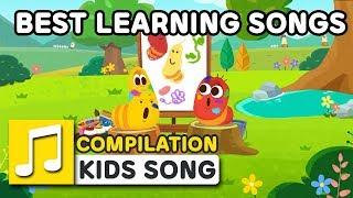 BEST LEARNING SONGS | COMPILATION  | Nursery Rhymes | LARVA KIDS Songs for Children