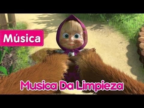 Masha e o Urso - Musica Da Limpieza (Dia de Lavar a Roupa)