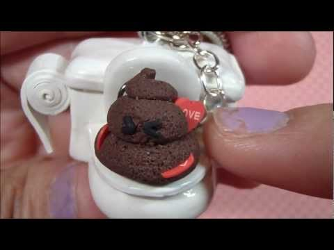 Watch Love Stinks: Polymer Clay Poop on a Toilet
