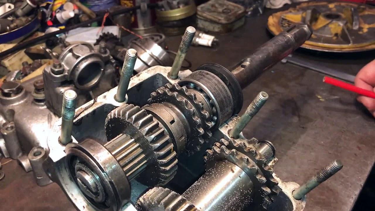 Капремонт двигателя буран  видео 125