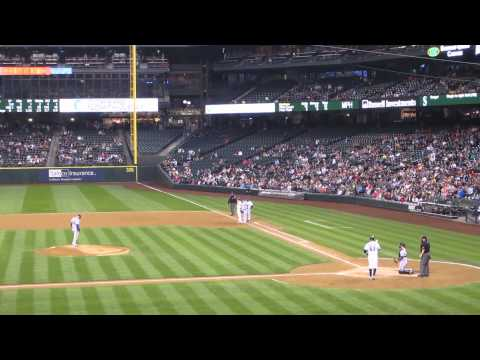 Seattle Mariners Game, Sept 22 , 2012