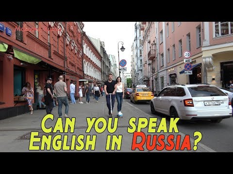 Do Russians Speak English? - Lets See!