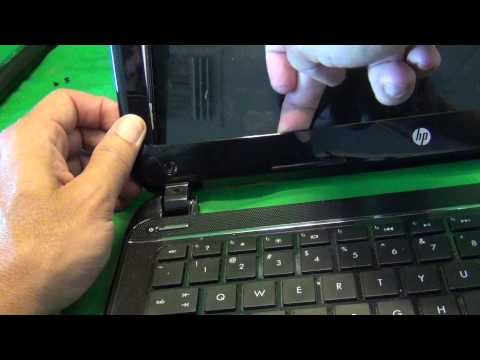 HP Pavilion Sleekbook 14 Notebook Screen Replacement Procedure