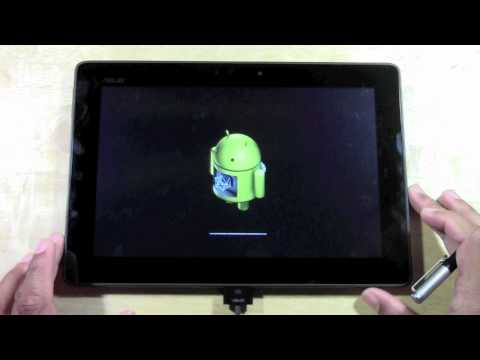 Asus Transformer Pad TF300 - How to Reset Back to Factory Settings