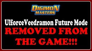 ☠ UlforceVeedramon Future Mode REMOVED FROM THE GAME!!! ✧ Digimon Masters Online