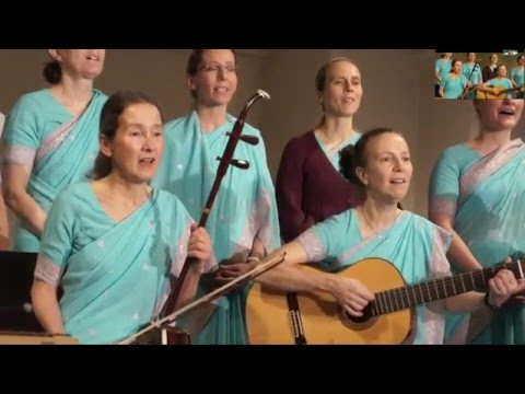 Bangla Song Singing Cristmas Concert in PredigerkircheBy Sri Chinmoy Center Zurich