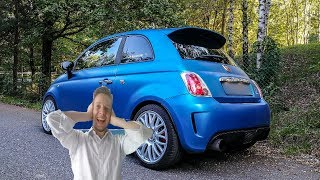 I Fitted the BANG on my Abarth! 💣 [Sub ENG]
