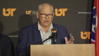 Phillip Fulmer Press Conference - June 20, 2017