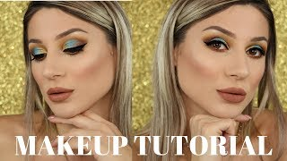CLASSIC MAKEUP TUTORIAL - HOLIDAY INSPIRED| MOSTLY DRUGSTORE || GIO DREVELI ||