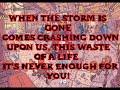 Steve Aoki (ft. Blink 182)   Why Are We So Broken (lyrics)