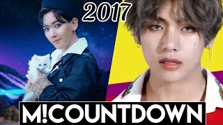 [TOP 20] Highest Scoring M!Countdown Wins of 2017