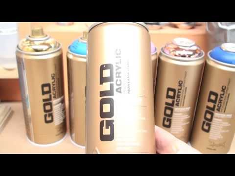 Montana Gold Spray Paint Review for Scale Hobbies